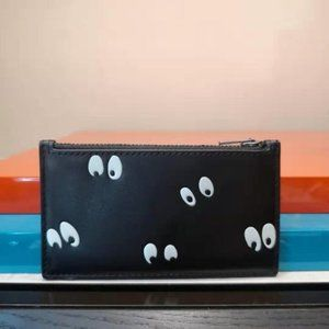 Coach X Disney Zip Card Case with Eyes Print